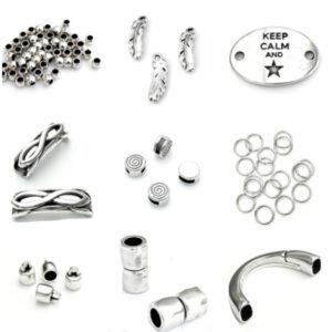 DQ Metaal Antiek Zilver
